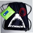 Personalised 'Shark' Swimming Bag