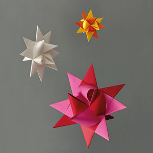 Origami Star Party Decoration - room decorations