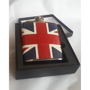 Classic 6oz Union Jack Hip Flask - flasks