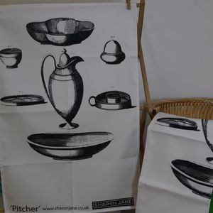 Pitcher Tea Towel