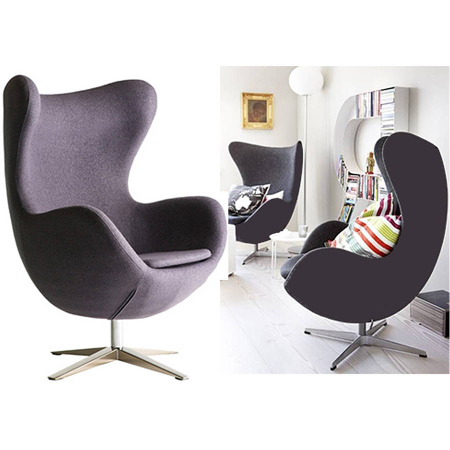 Armchair Cocoon Egg Style Modern Arm Chair By Ciel