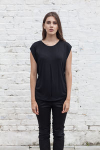 Black Keyhole Top Made In UK - women's fashion