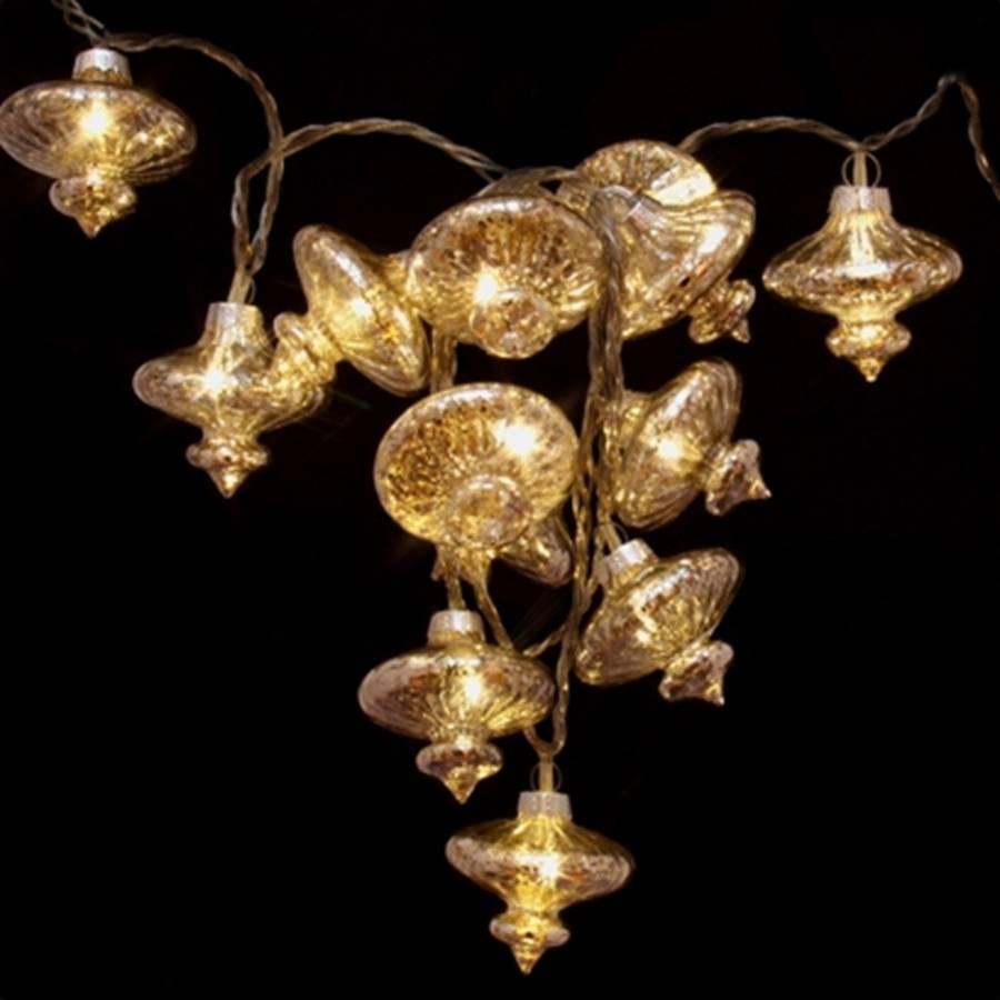Target Mercury String Lights : mercury glass led fairy lights by little red heart notonthehighstreet.com