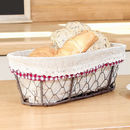 Bread Rolls Chickenwire Basket