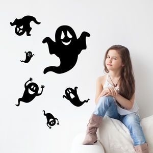 Halloween Ghosts Wall Stickers
