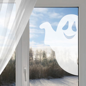 Halloween Ghost Window Sticker - office & study