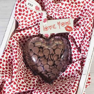 Chocolate 'Valentines Heart Buttonits' - cakes & treats