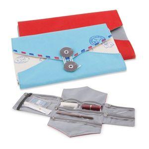 Envelope Travel Jewellery Organiser Roll Three Colours