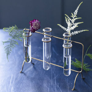 Brass Pippin Flower Rack - new home gifts