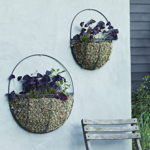 Dewey Wall Basket, Set Of Two - gardening