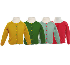 Child's Classic Bright Cardigan