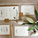 Bespoke Alicia Postcard Wedding Invitation