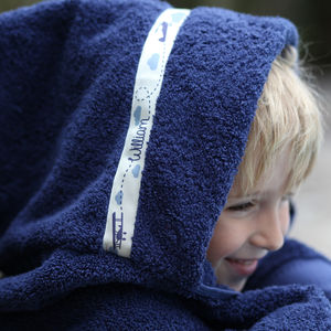 Personalised Hooded Towel - beach towels