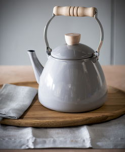 Grey Enamel Stove Kettle - kitchen