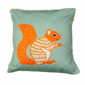 Decorative Squirrel Cushion - cushions