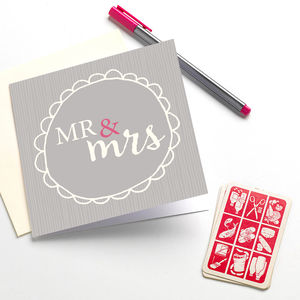 'Mr And Mrs' - styling your day
