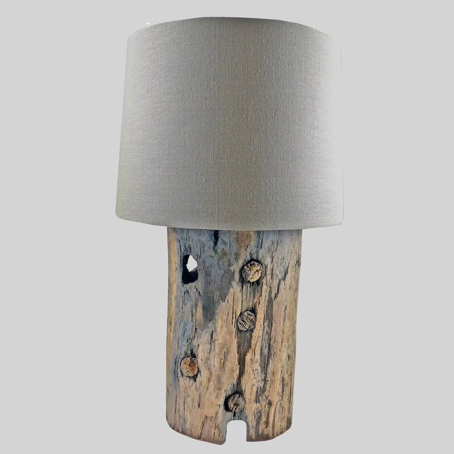 Gateholm Table Lamp By Nautilus Driftwood Design