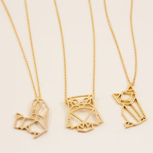 Gold Animal Pendant Necklace - last-minute christmas gifts for her