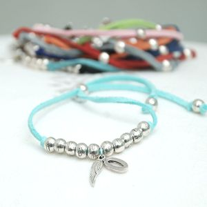 Personalised Suede Friendship Bracelet - women's sale