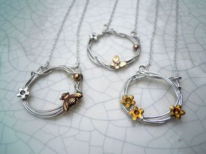 Woodland Bee Necklace