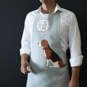 Beagle Apron - kitchen linen