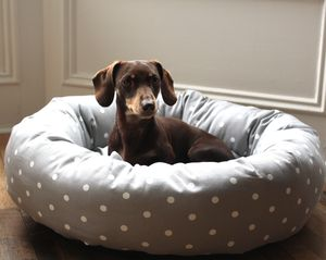 Dotty Donut Dog Bed - dogs