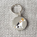 Jack Russell Dog ID Name Tag