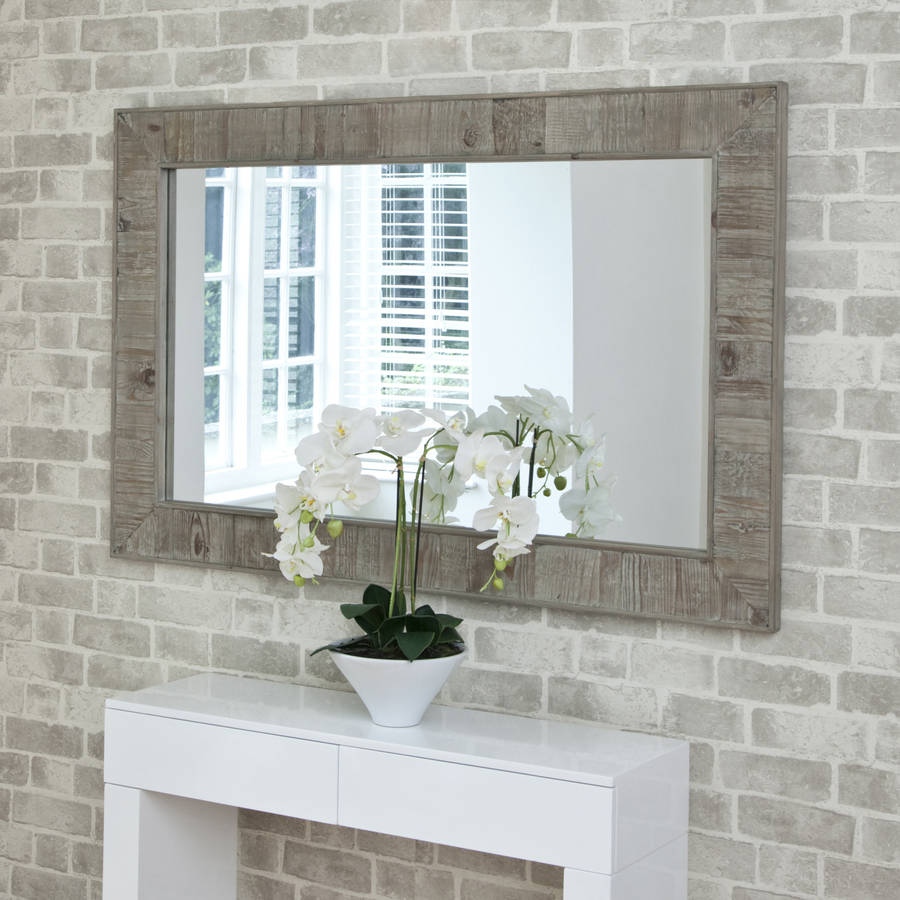 Reclaimed Wooden Mirror By Decorative Mirrors Online