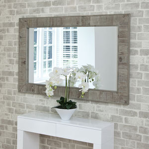 Reclaimed Wooden Mirror - home accessories