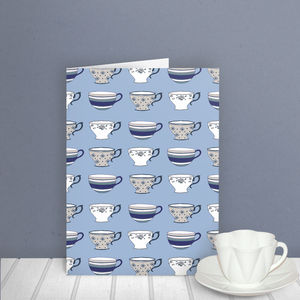 Cups Pattern Card