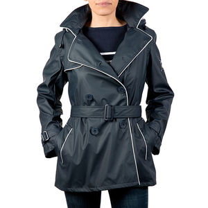 French Waterproof Trench Coat By Hublot Marine