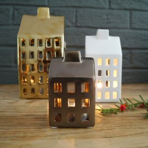House Tealight Holders - tableware