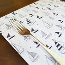 Set Of Four Yacht Placemats - Rectangle
