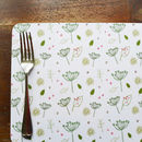 Set Of Four Countryside Placemats