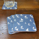Set Of Four Sailboat Coasters