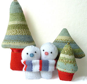 Everlasting Snowmen Knitting Kit