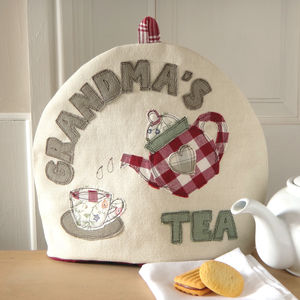 Personalised Name Tea Cosy - 70th birthday gifts