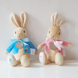 Personalised My First Peter Rabbit And Flopsy - toys & games