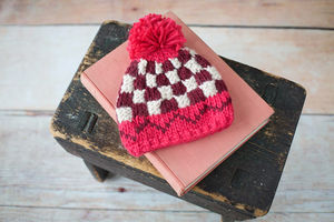 Red Bobble Hat - children's accessories