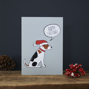 Jack Russell Christmas Card