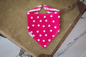 Rabbit Matching Reversible Bandana Bib
