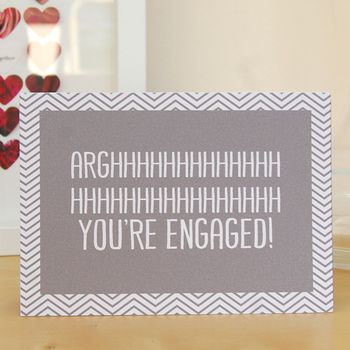 'Arghhhhhhh You're Engaged!' Card