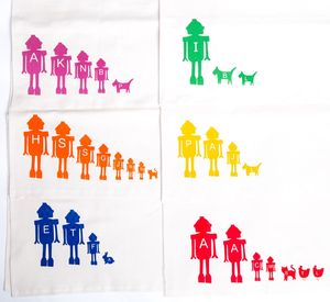 Personalised Tea Towel - home