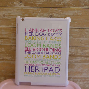 Personalised Case For I Pad2 ** Half Price ** - phone & tablet covers & cases