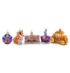 Little Royal London Christmas Bauble Set