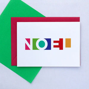 Christmas Cards Noel Pack Of Five