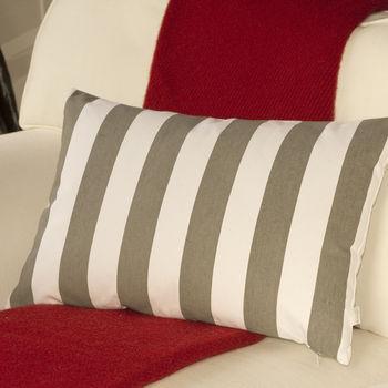 Stone Striped Cushion