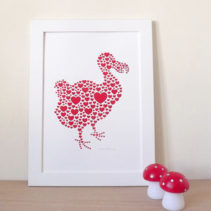 DODO Love Screen Print