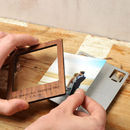 Polaroid magnet with Metal back
