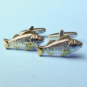 Carp Fish Cufflinks - wedding fashion